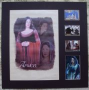 Liv Tyler Signed Lord Of The Rings Lythograph Display Set - Awen #2